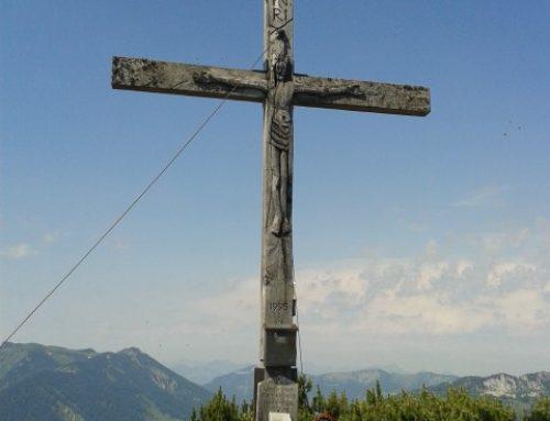 Hochplatte Chiemgau aka der Höhenkilometer